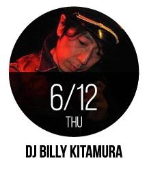 DJ BILLY KITAMURA