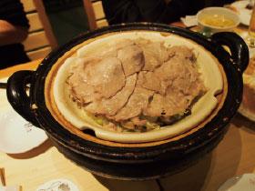 玉田泉イチオシの今夜の一品 「旬野菜と豚肉の土鍋蒸し」