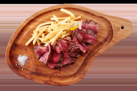 欧風小皿料理 沢村 「但馬牛のステーキ」